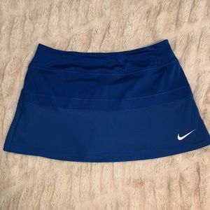 Nike tennis skort with mesh detail